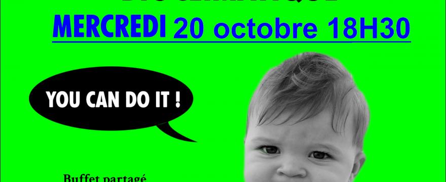 Mercredi 20 octobre 2021 : Conférence Agir face à l'urgence bioclimatique