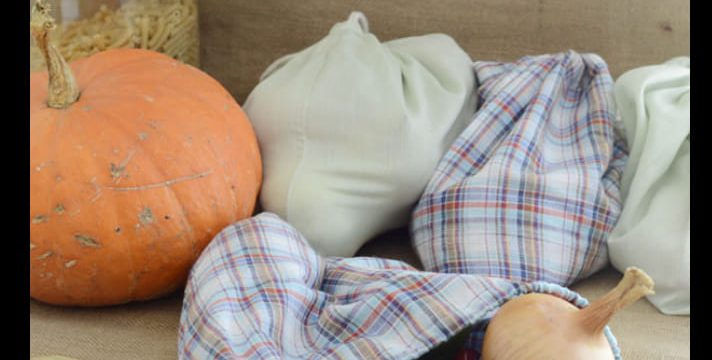 Samedi 16 octobre 2021 : Atelier couture : sacs à vrac
